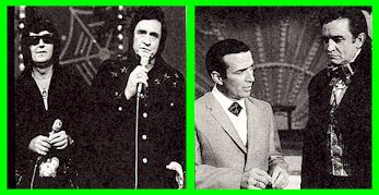 Johnny Cash, Roy Orbison, Faron Young
